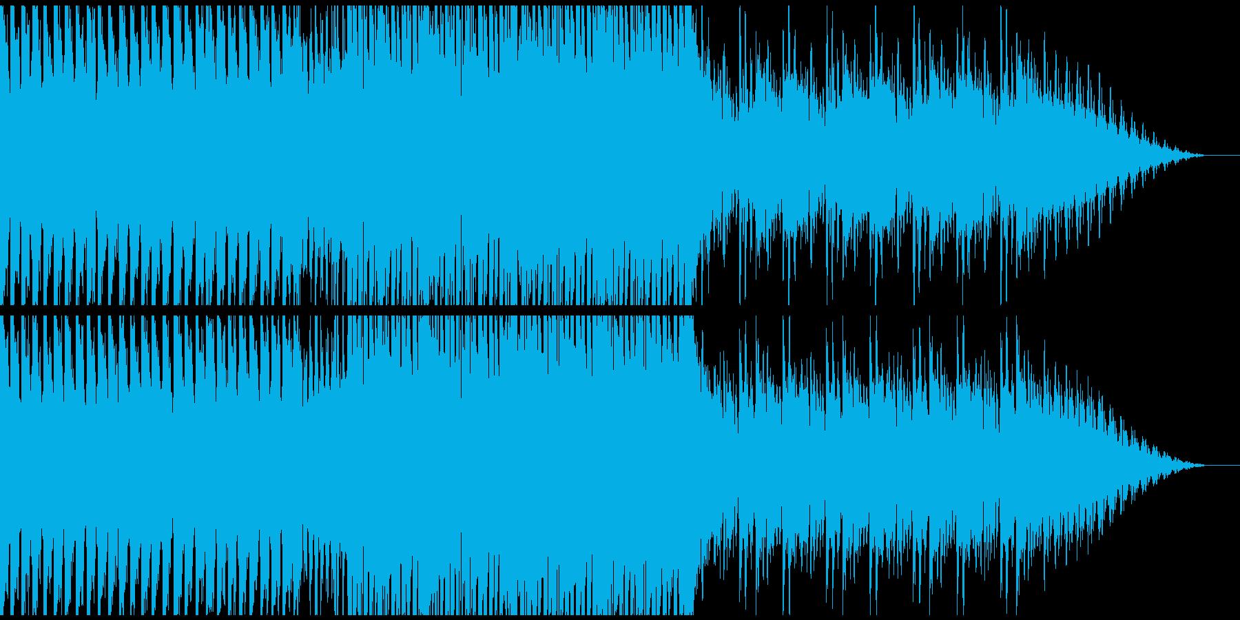 おしゃれなEDMです。の再生済みの波形