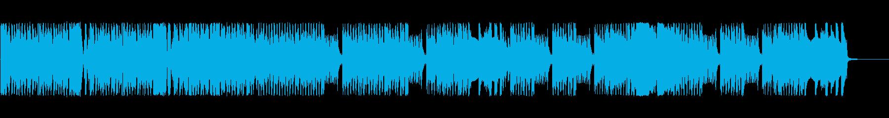 懐かしいファミコンゲーム風の楽しいBGMの再生済みの波形
