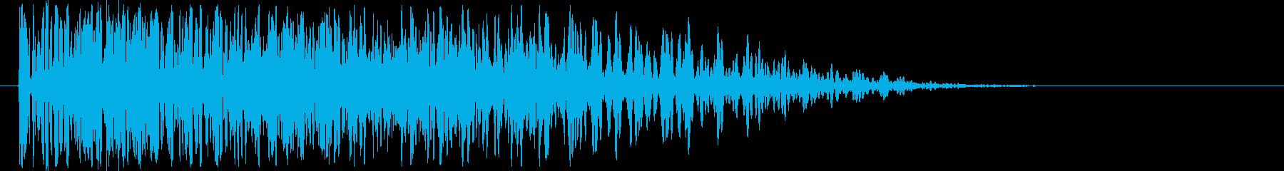 爆発音・大砲2の再生済みの波形