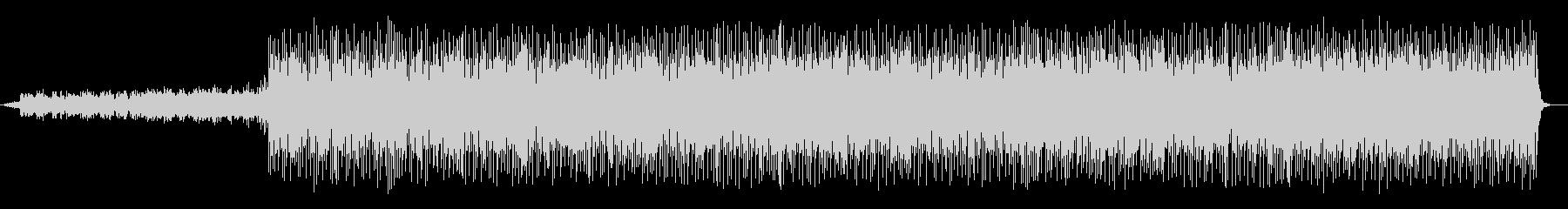 緩やかでメロディアスなピアノサウンドの未再生の波形