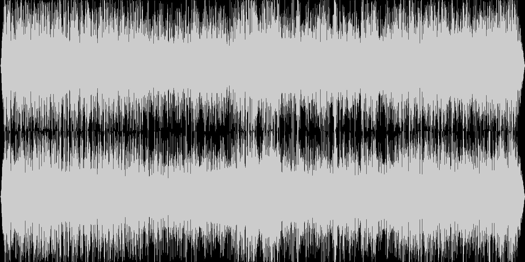 地響き(ゴゴゴゴ・・・・)の未再生の波形