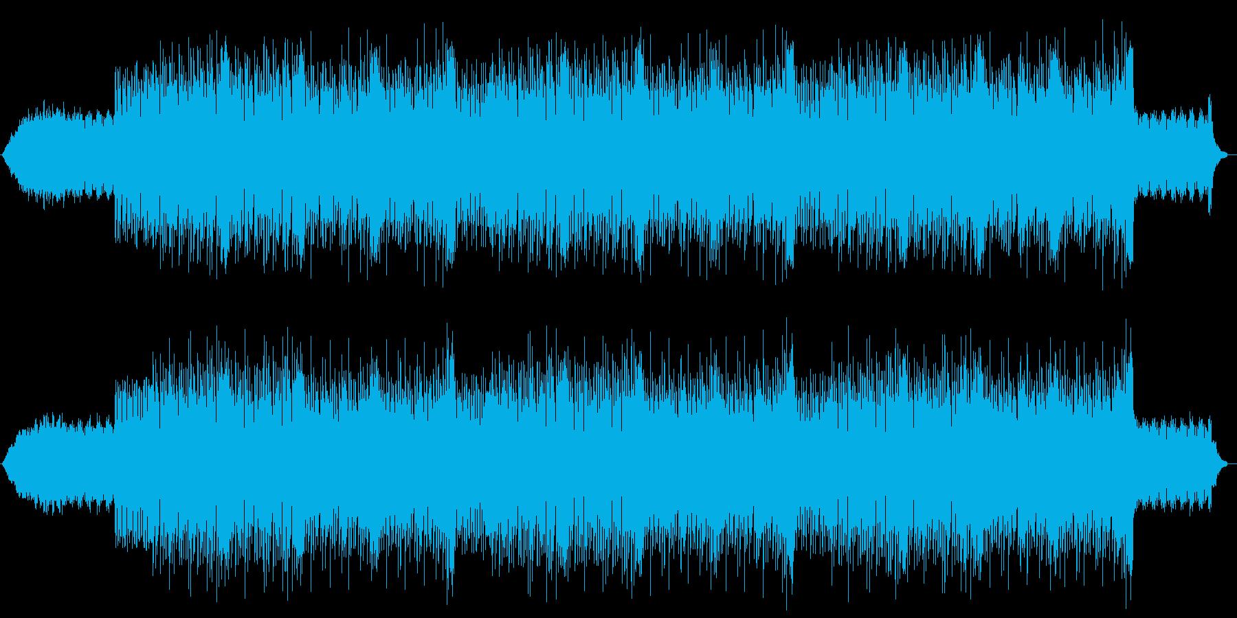 インド、または東洋の軽快な雰囲気の曲の再生済みの波形
