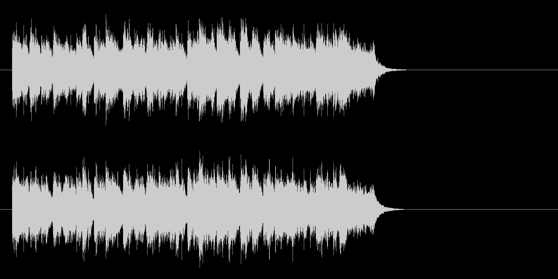 サビのメロディが印象的 好感度ポップスの未再生の波形
