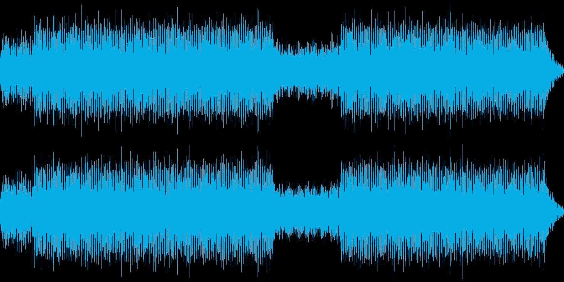 かっこいい感じ クール 宇宙感 ゲームの再生済みの波形