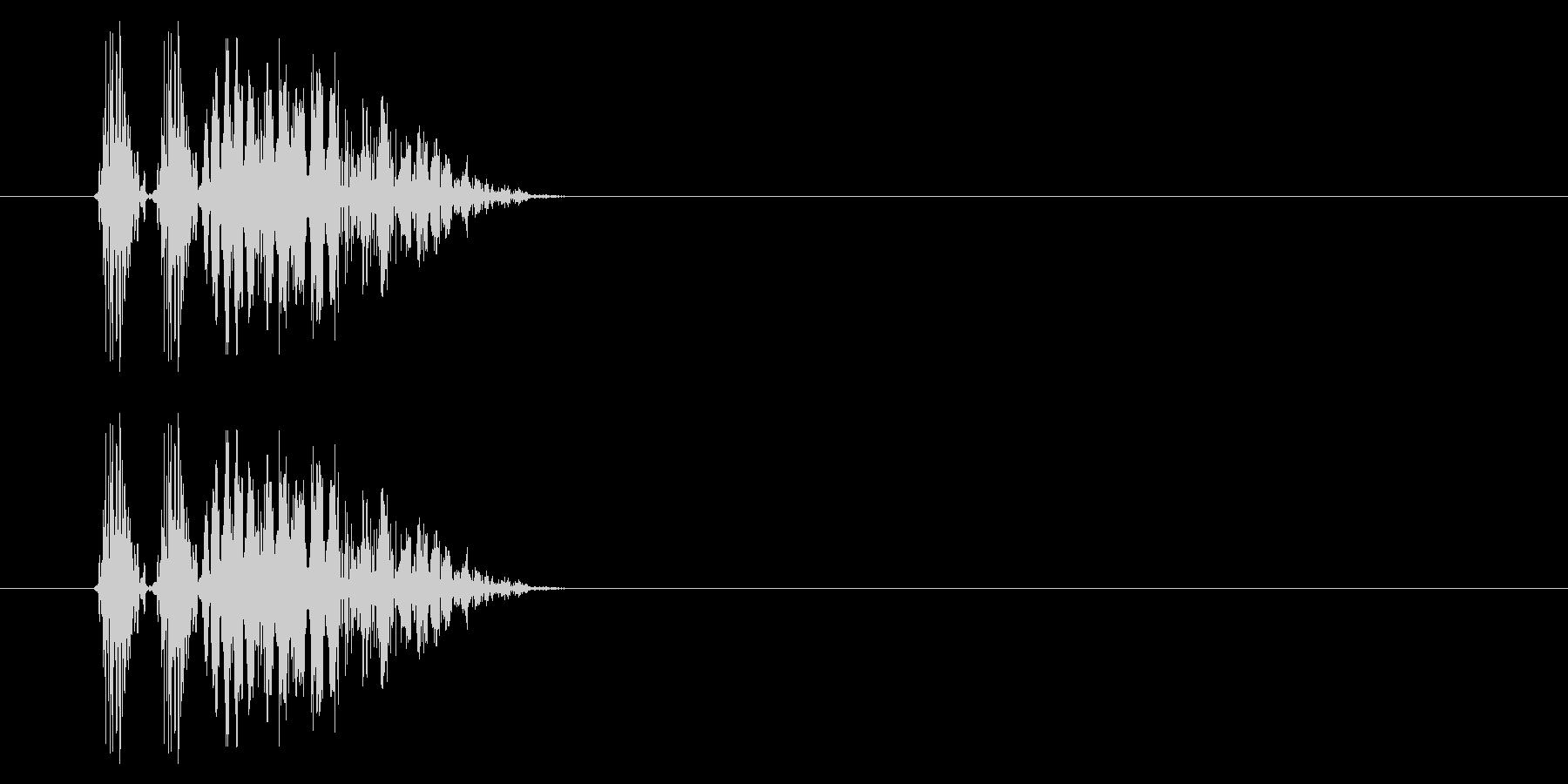 SNES 格闘02-07(爆発)の未再生の波形