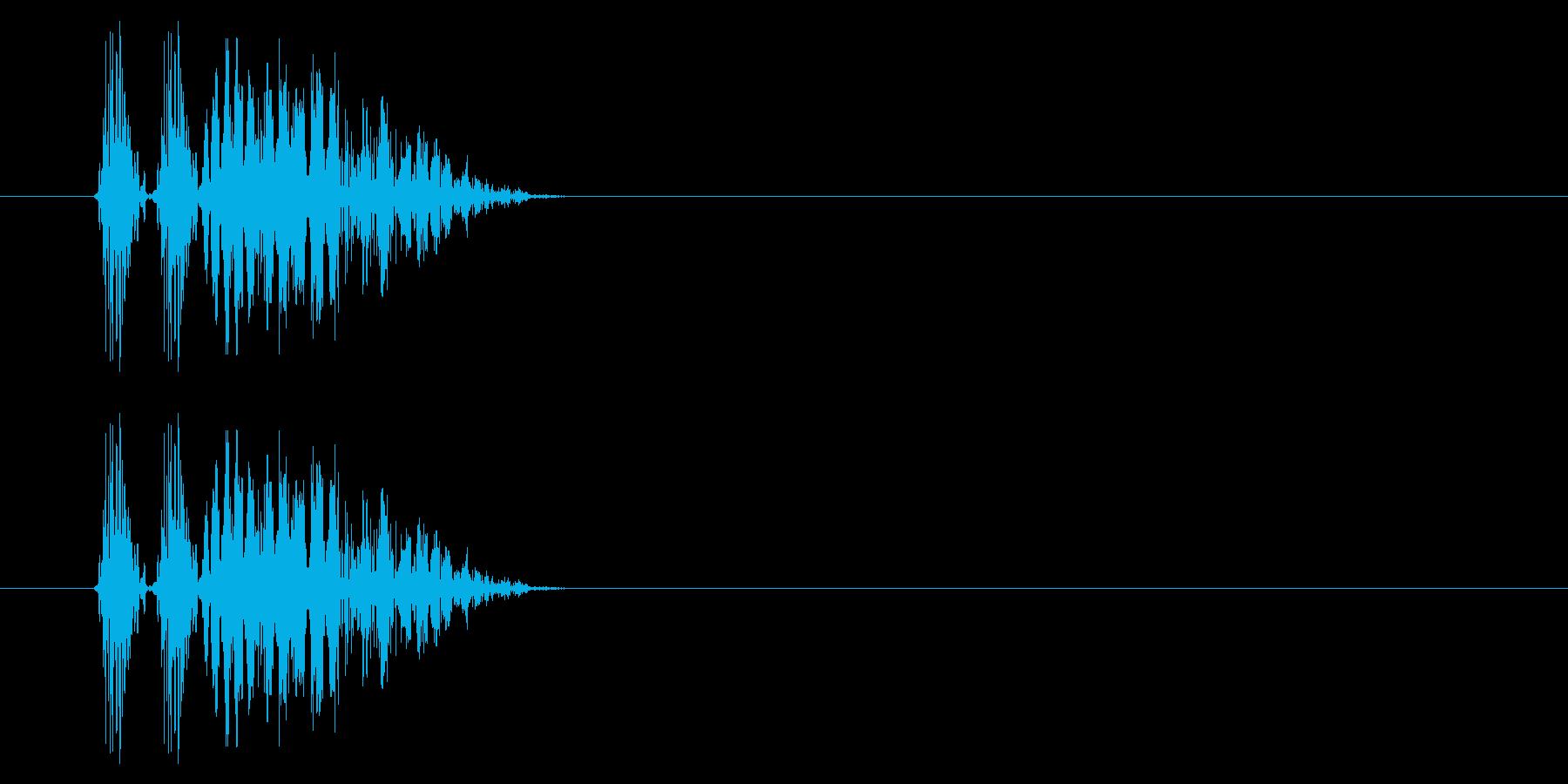 SNES 格闘02-07(爆発)の再生済みの波形