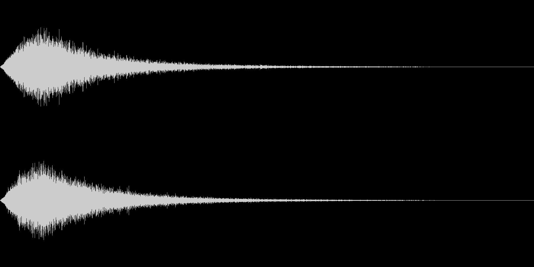 TV RADIO SFX8 CM前焦らしの未再生の波形
