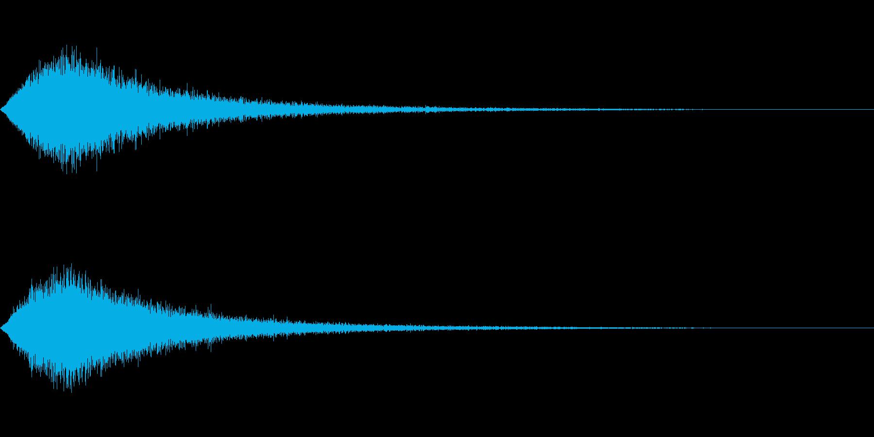 TV RADIO SFX8 CM前焦らしの再生済みの波形
