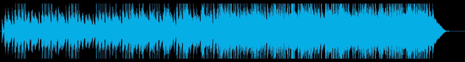 ヘッドライン ニュース ビートなしの再生済みの波形