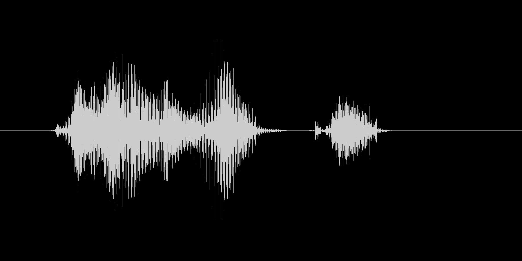 洋楽(ようがく)の未再生の波形