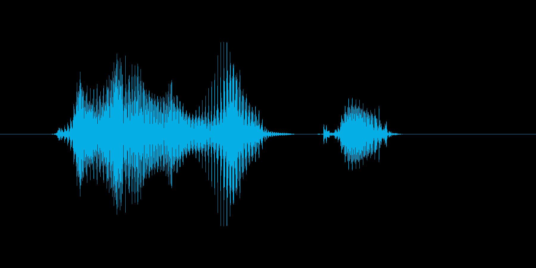 洋楽(ようがく)の再生済みの波形