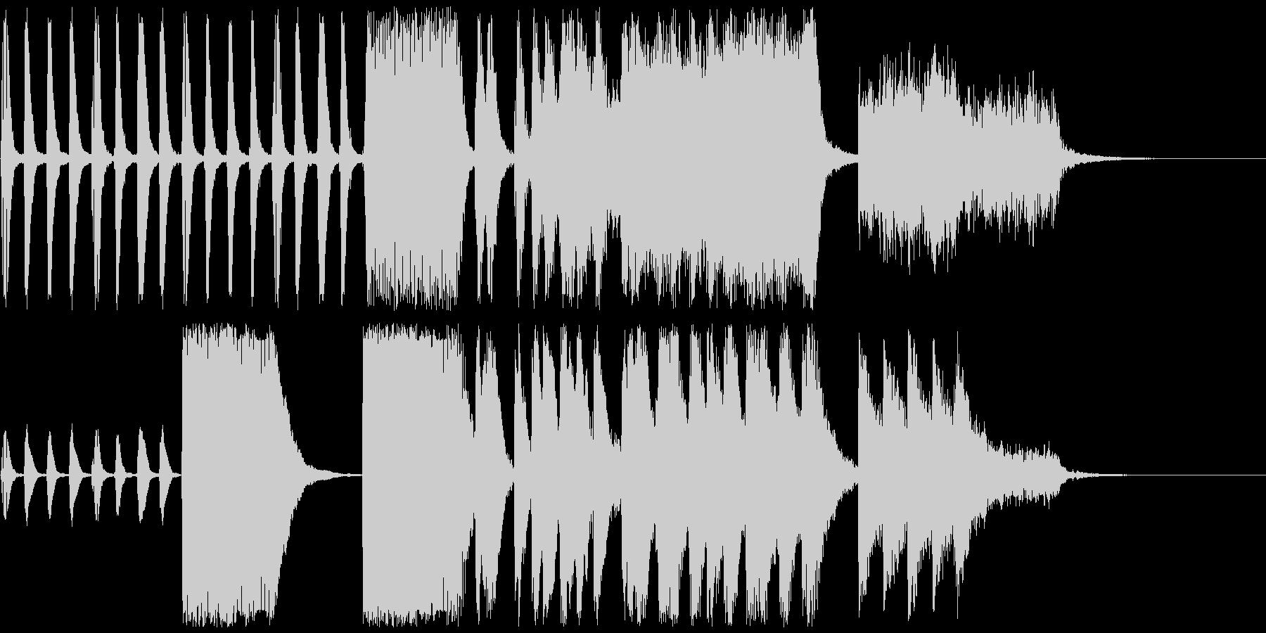 簡素な中から伝わるドキドキ感ex.verの未再生の波形