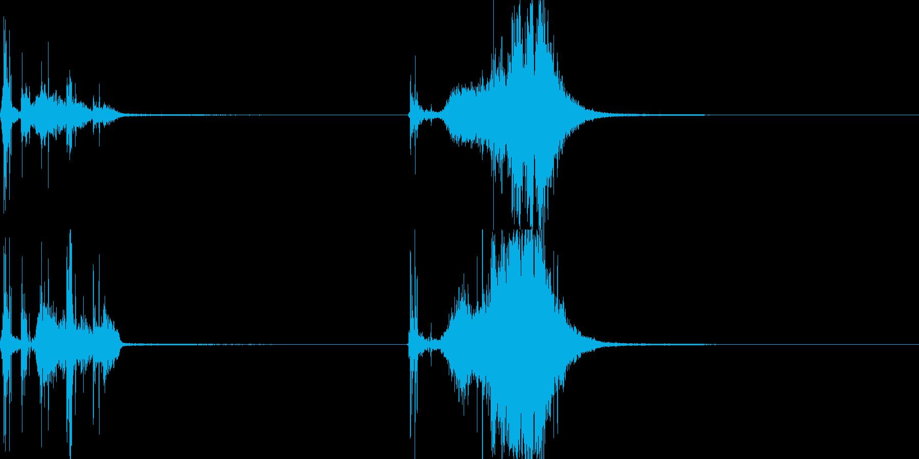 メジャー03(武器)の再生済みの波形