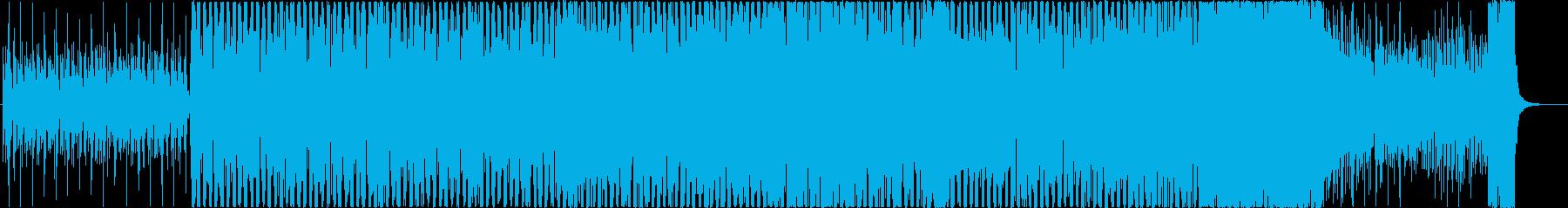 パッヘルベル カノンのダンスアレンジの再生済みの波形