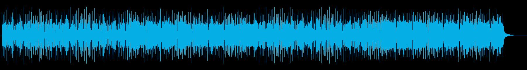 陽気で軽快なアップテンポラテンサウンドの再生済みの波形