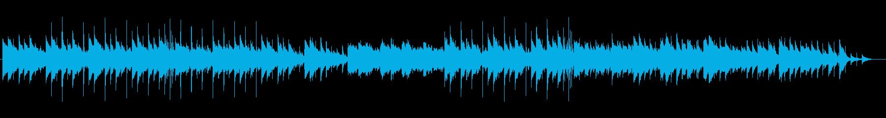 煌びやかで可憐なオルゴール風メロディーの再生済みの波形