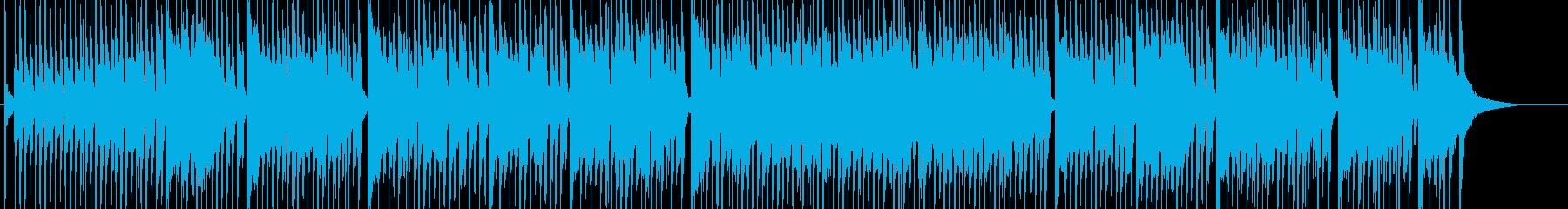 軽快で楽しいほのぼのBGMの再生済みの波形