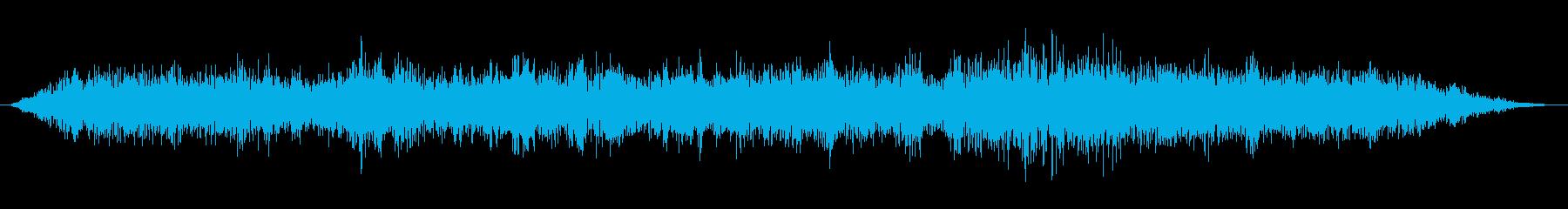 暗黒魔法(ブラックホール発生)の再生済みの波形