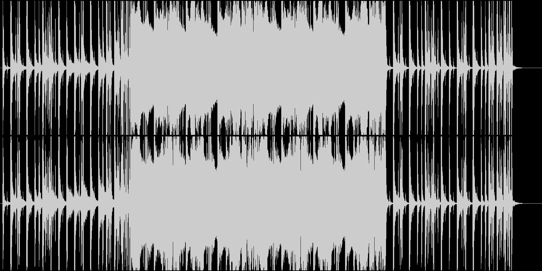 G FUNKの未再生の波形