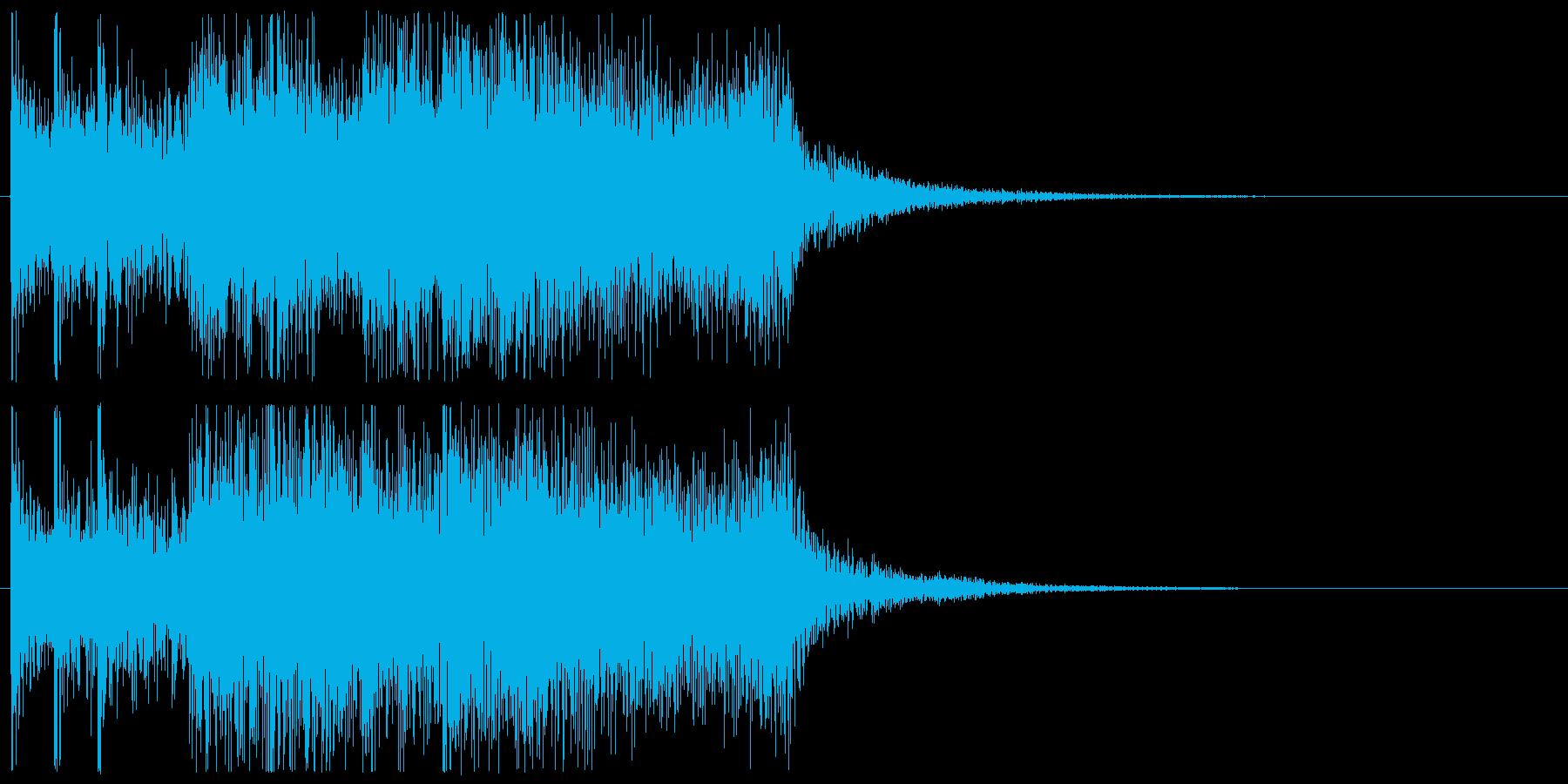 ブラスとティンパニ 勇壮 CM 場面転換の再生済みの波形