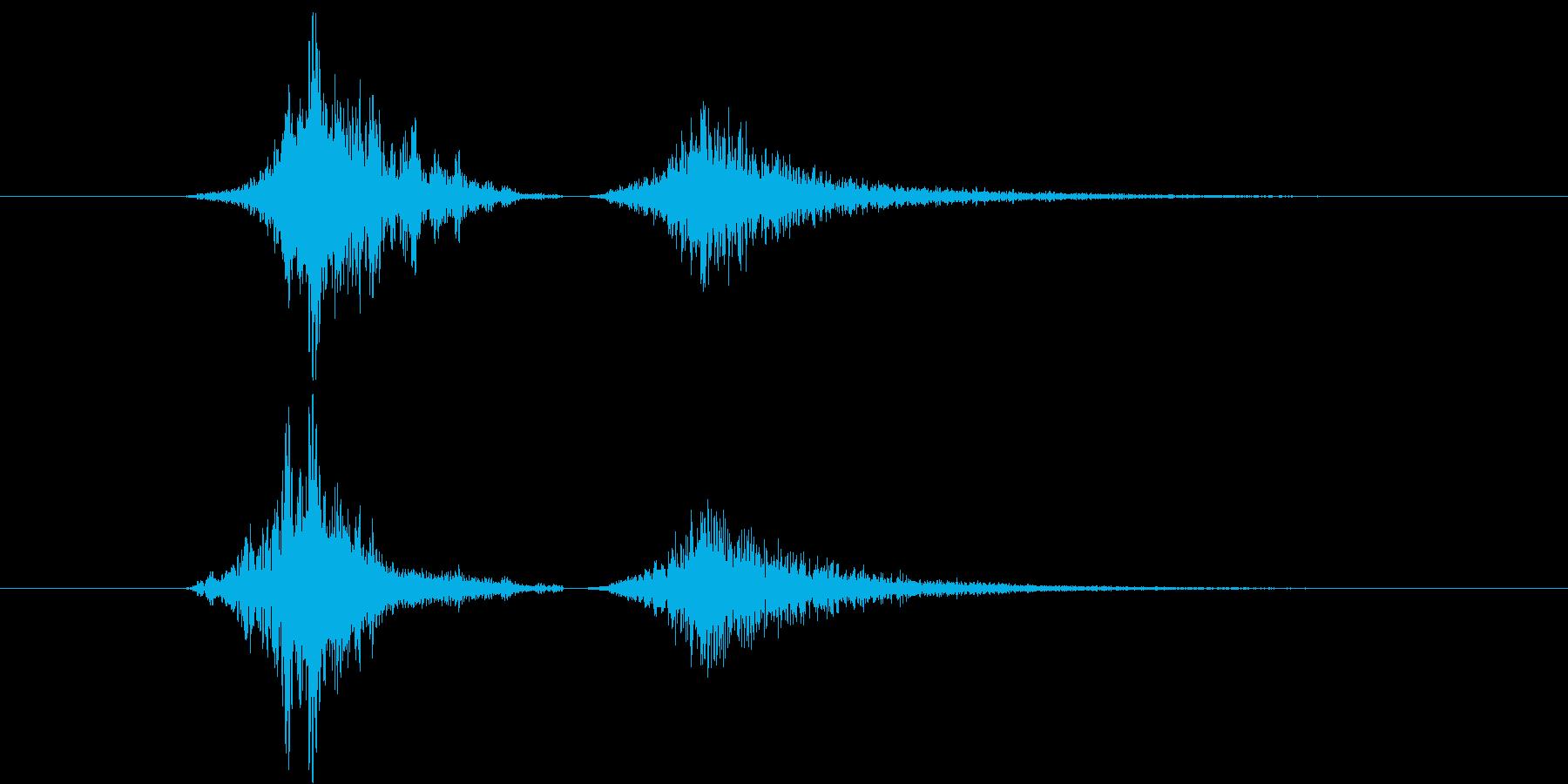 187_リバース2連の再生済みの波形