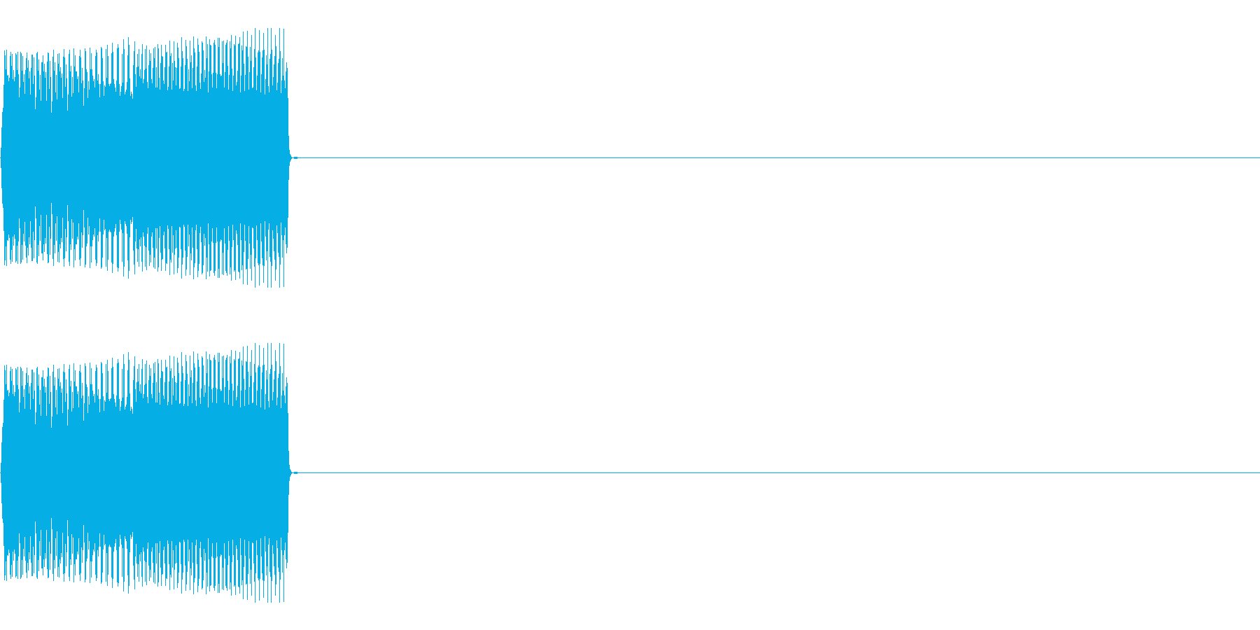 ボタンSE01-セレクト03(Down)の再生済みの波形