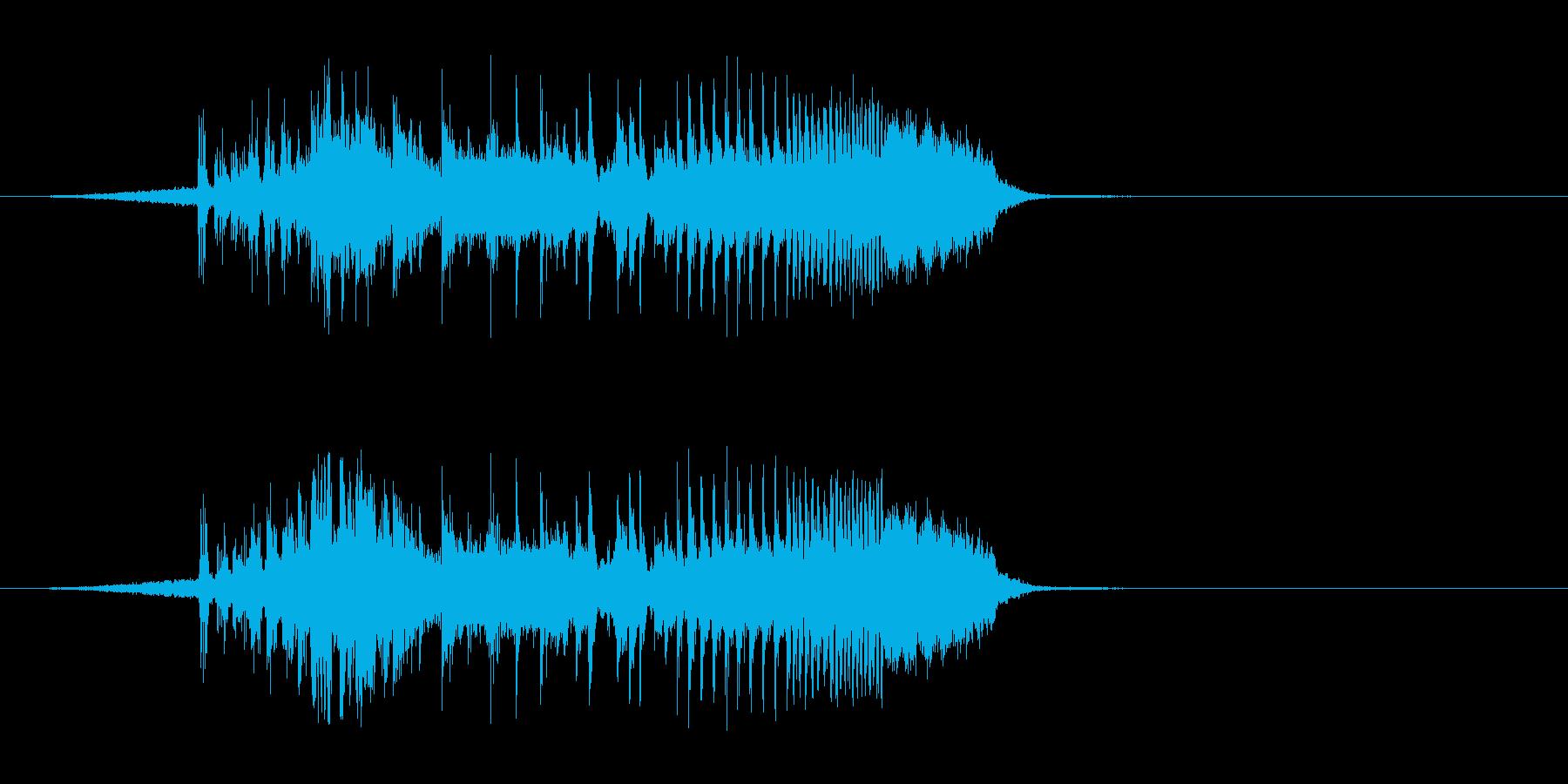 【DJジングル・EDM】オープニングAの再生済みの波形