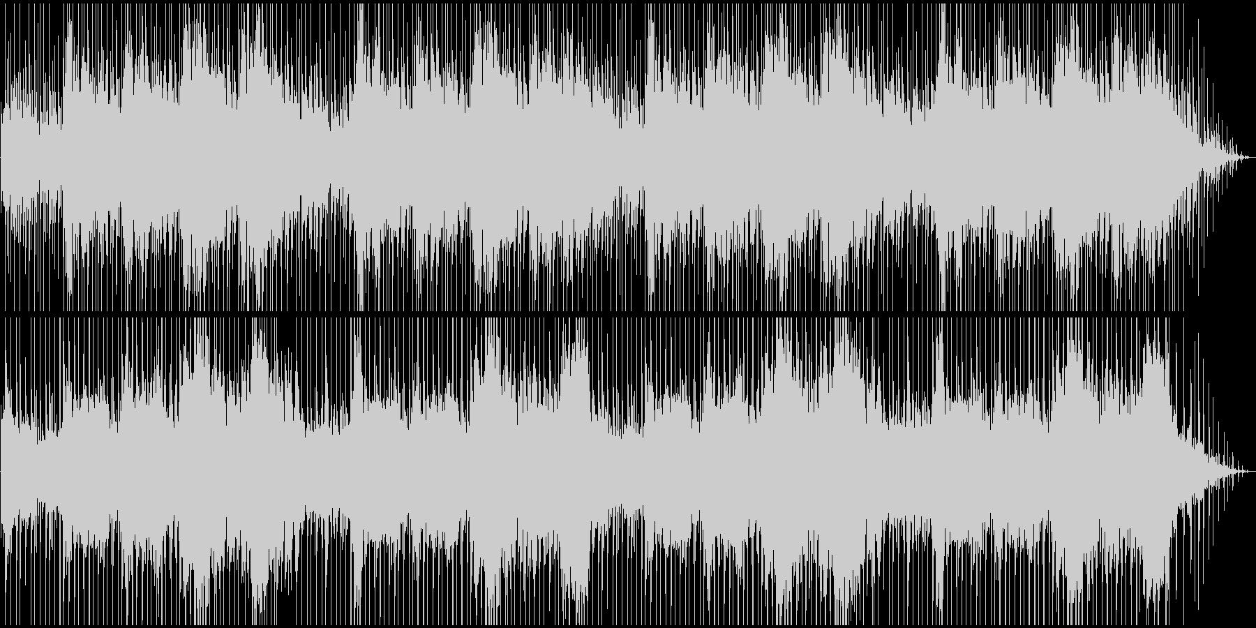 エスニック、インド風BGMの未再生の波形