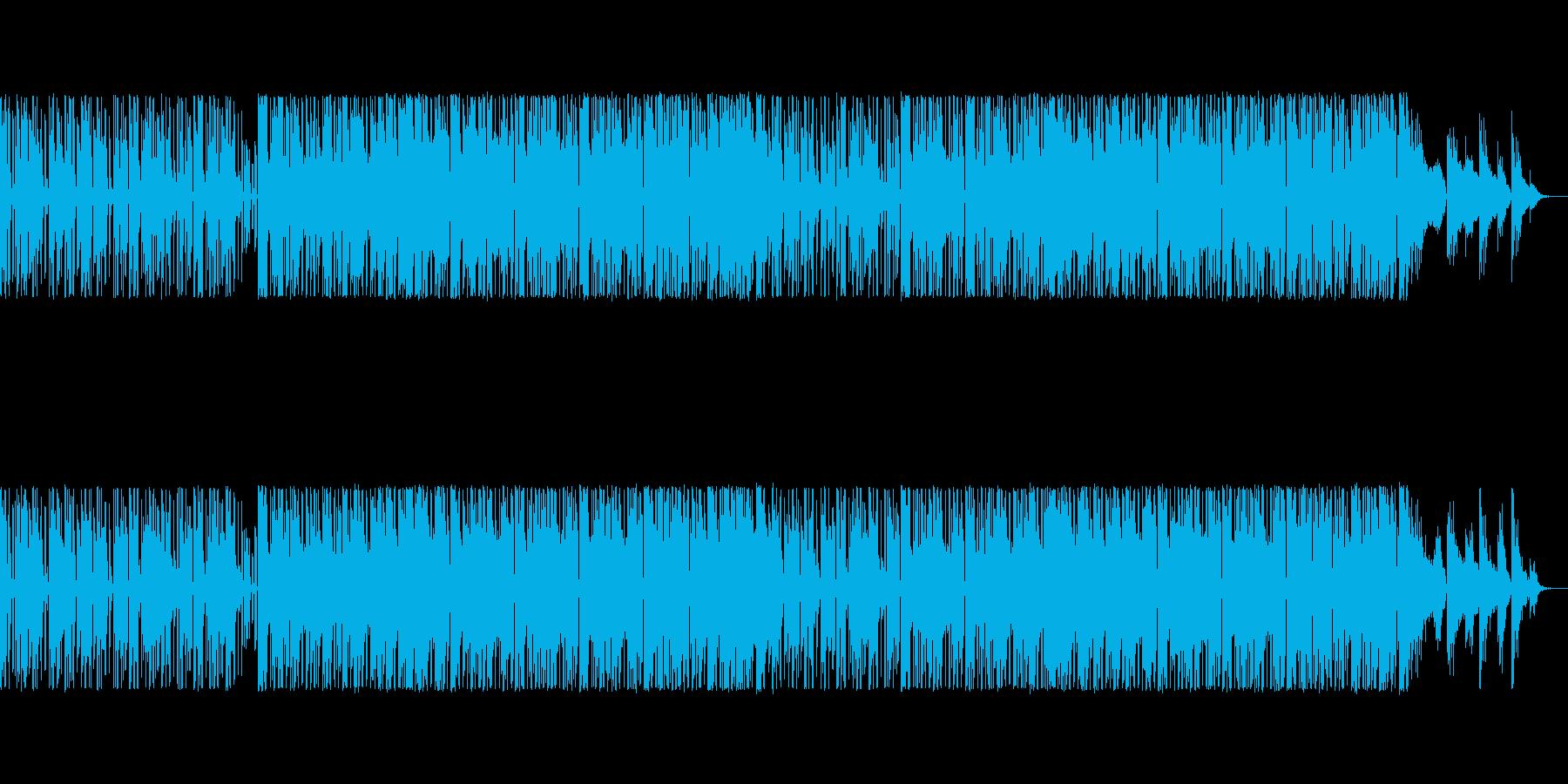 ゲームBGMに適したシンセポップの再生済みの波形