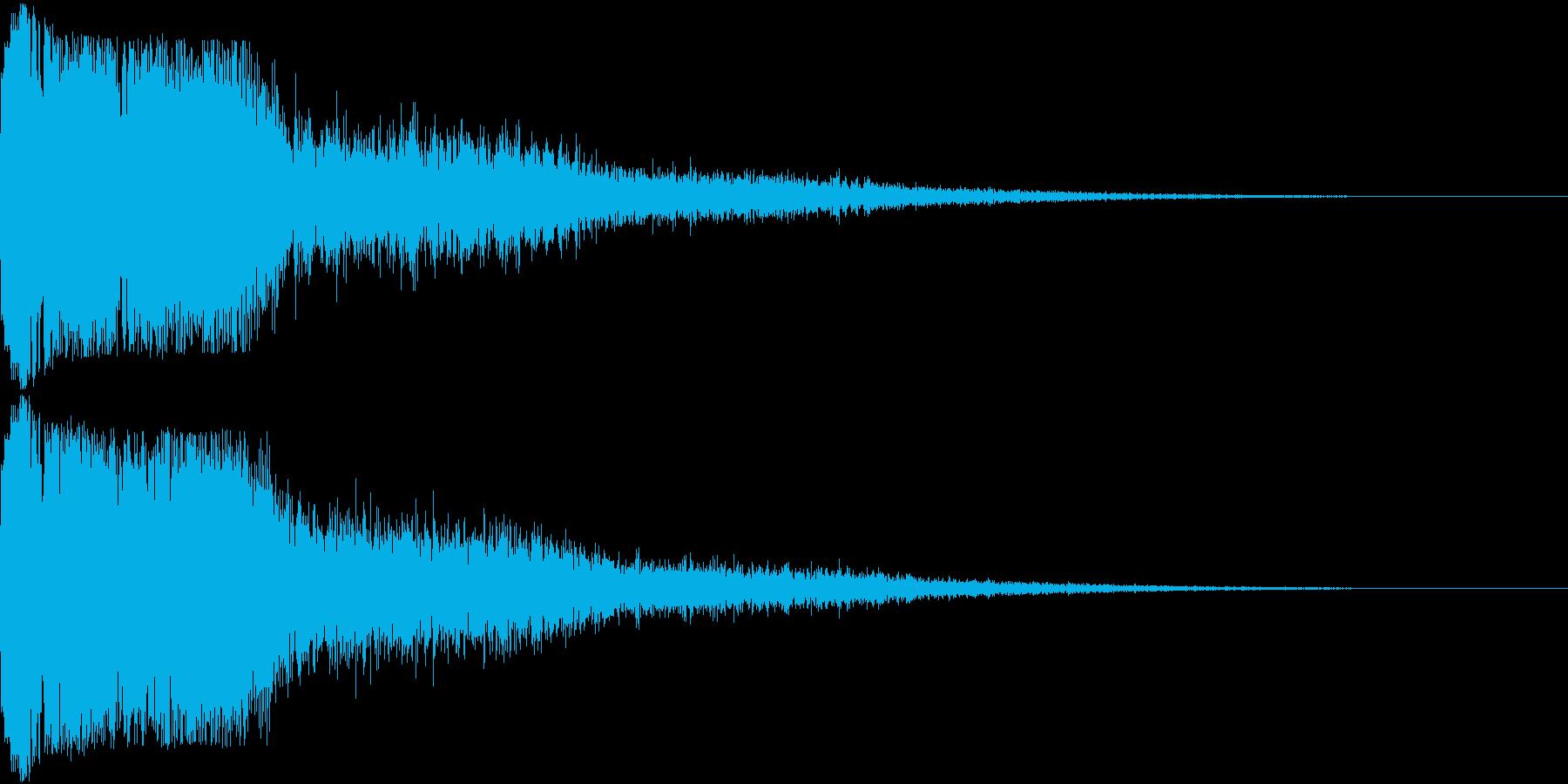 ピコン ピコ チャリン キュイン 2の再生済みの波形
