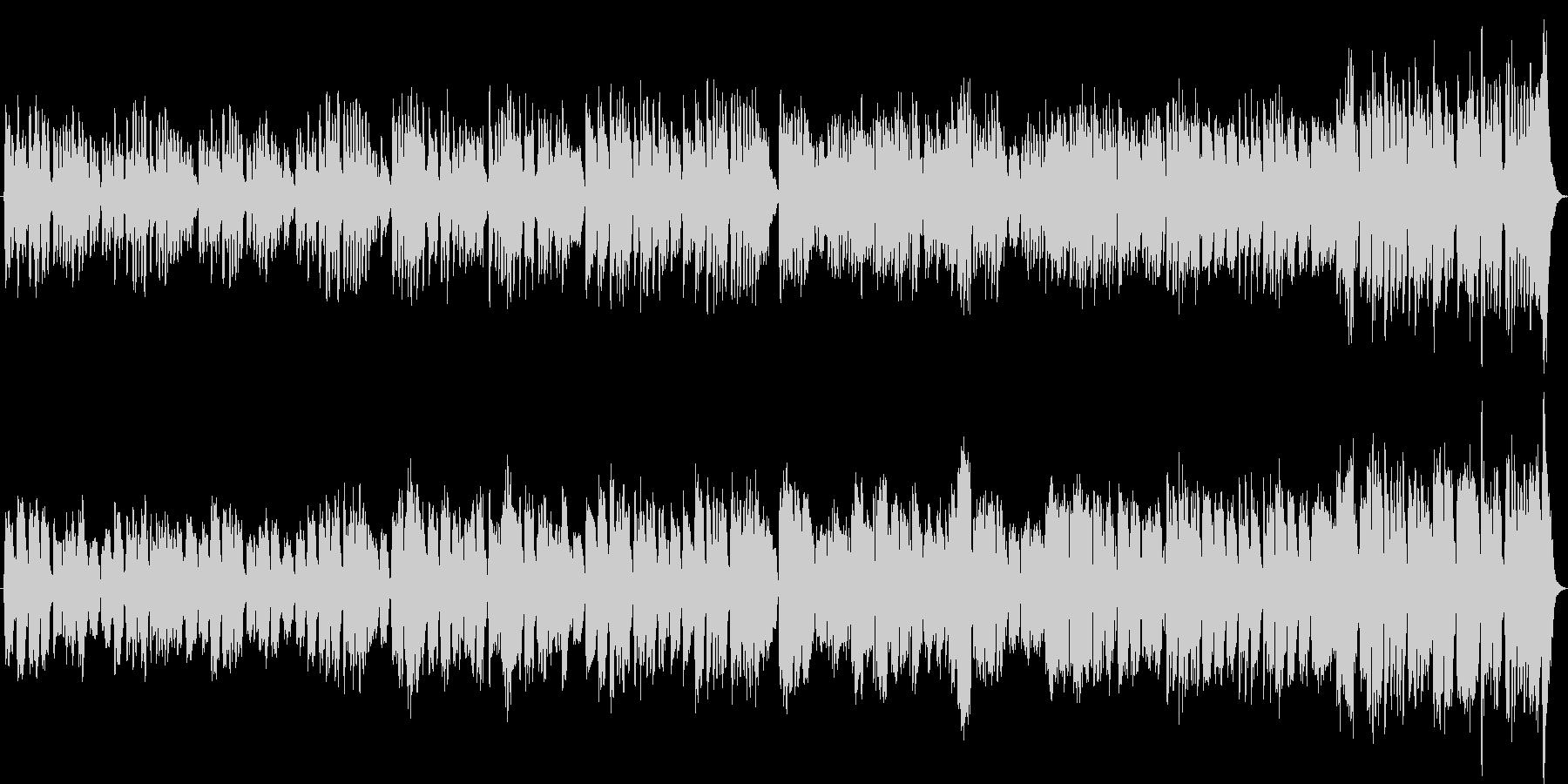 木管四重奏オリジナルバロック曲英国庭園風の未再生の波形