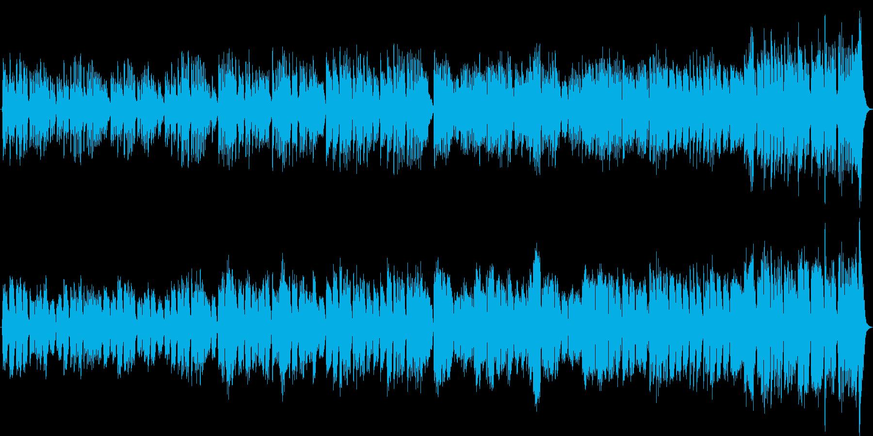 木管四重奏オリジナルバロック曲英国庭園風の再生済みの波形