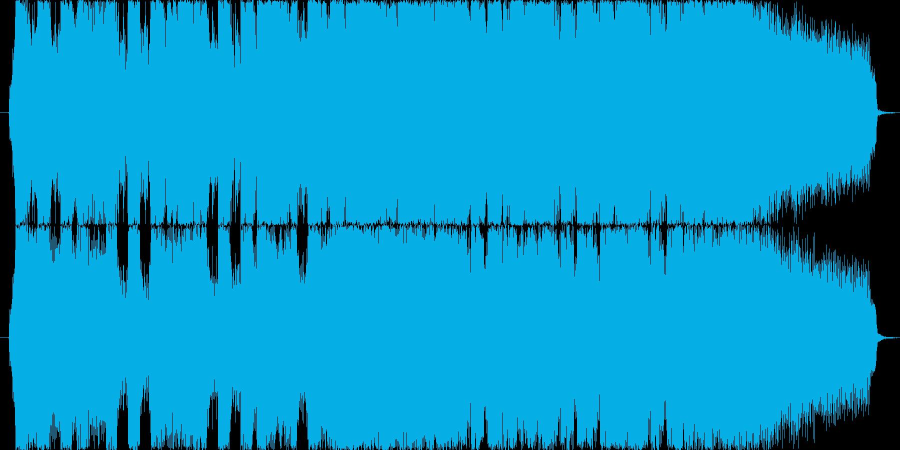 インパクトある30秒のバンドサウンドですの再生済みの波形