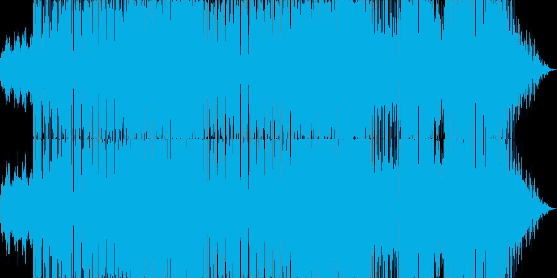 80年代風のエレクトロJポップの再生済みの波形
