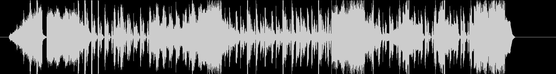 スタイリッシュでクールな映像用BGMの未再生の波形