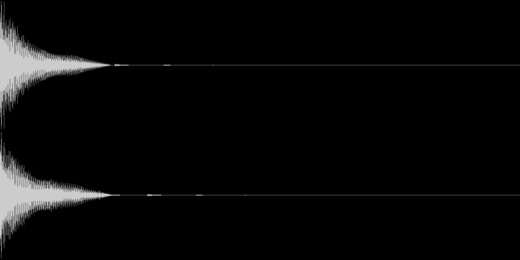 DigitalPay 決済音 2の未再生の波形