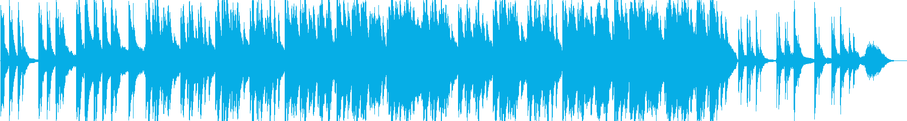 感動的なバラードのピアノ曲の再生済みの波形
