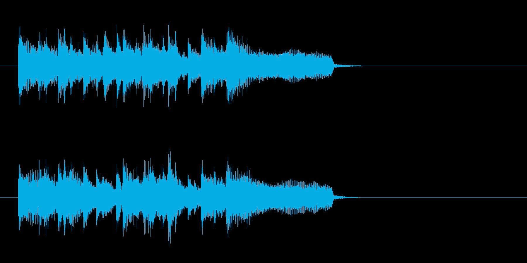 ジングル(バラード・タイプ)の再生済みの波形