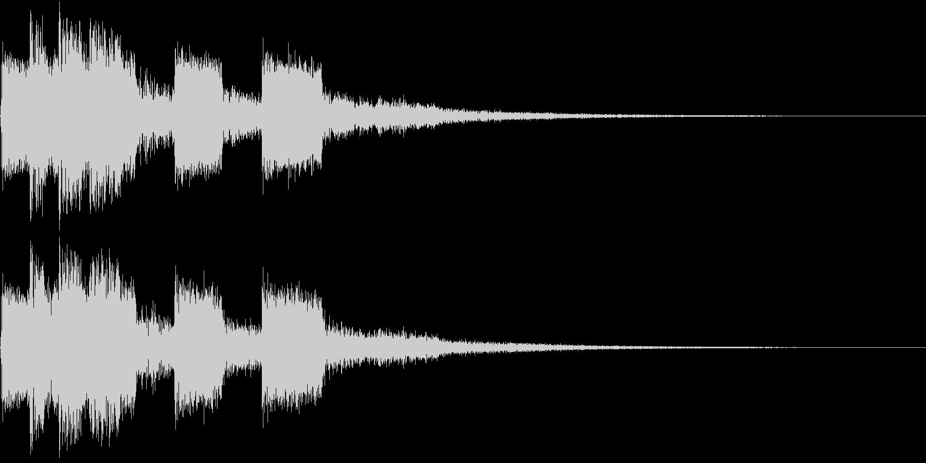 ピコピコ キュルルン ジャンプ Aの未再生の波形