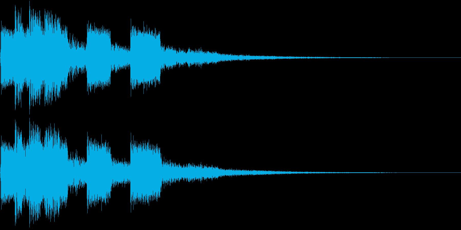 ピコピコ キュルルン ジャンプ Aの再生済みの波形