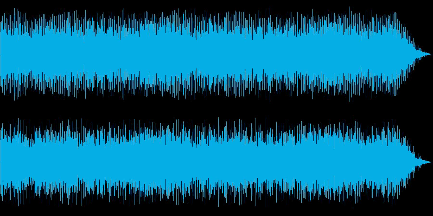 緊張感のある曲ですの再生済みの波形