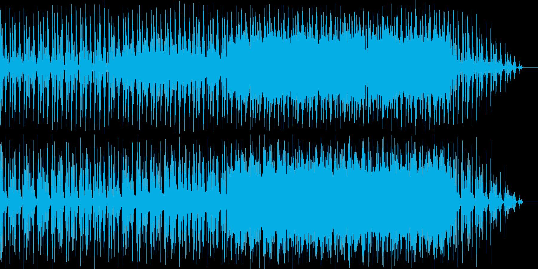 ほのぼの系パズルゲームのプレイ画面の再生済みの波形