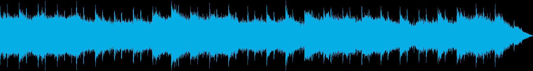 【主張しない背景音楽】ヒーリング4の再生済みの波形
