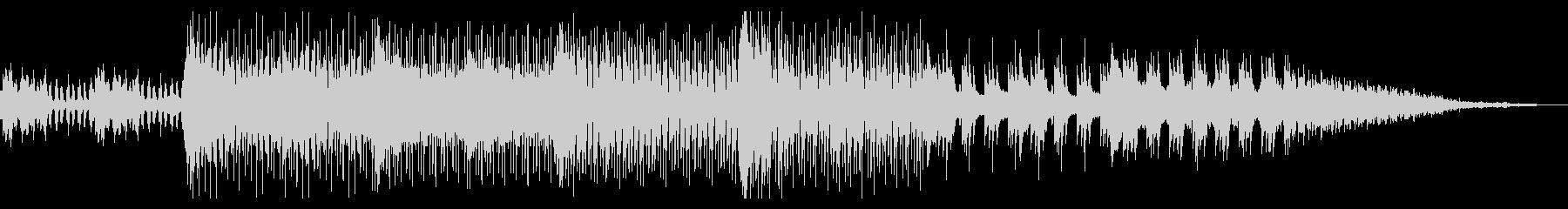 実験的なミニマルテクノの未再生の波形