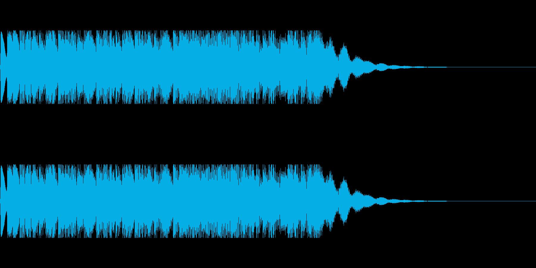 発車メロディ6の再生済みの波形