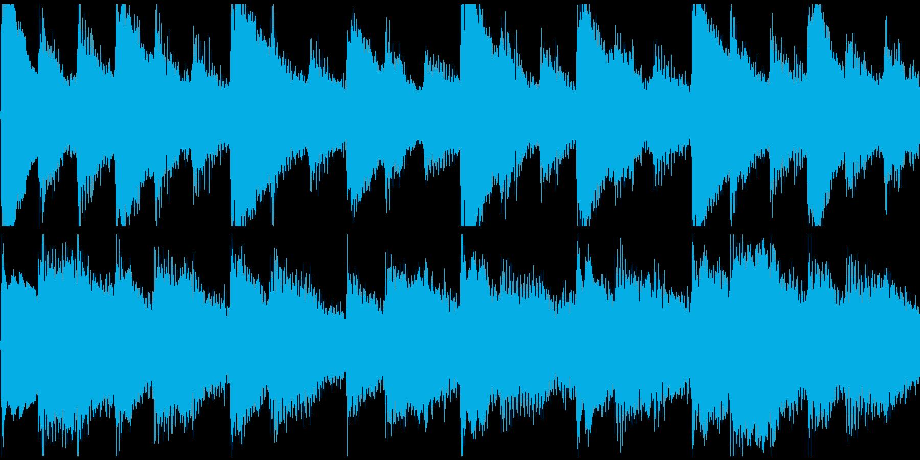 感動表現、CM,ブライダル、ループ4の再生済みの波形