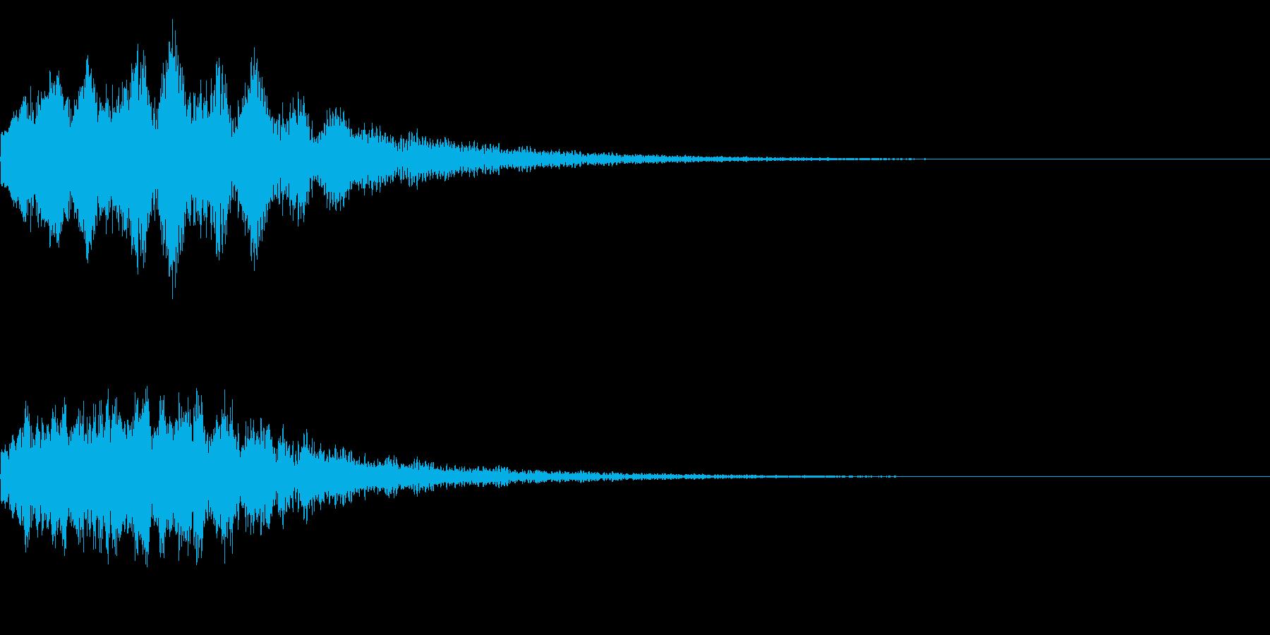 キラーン(星、光、魔法、テロップ等)4bの再生済みの波形