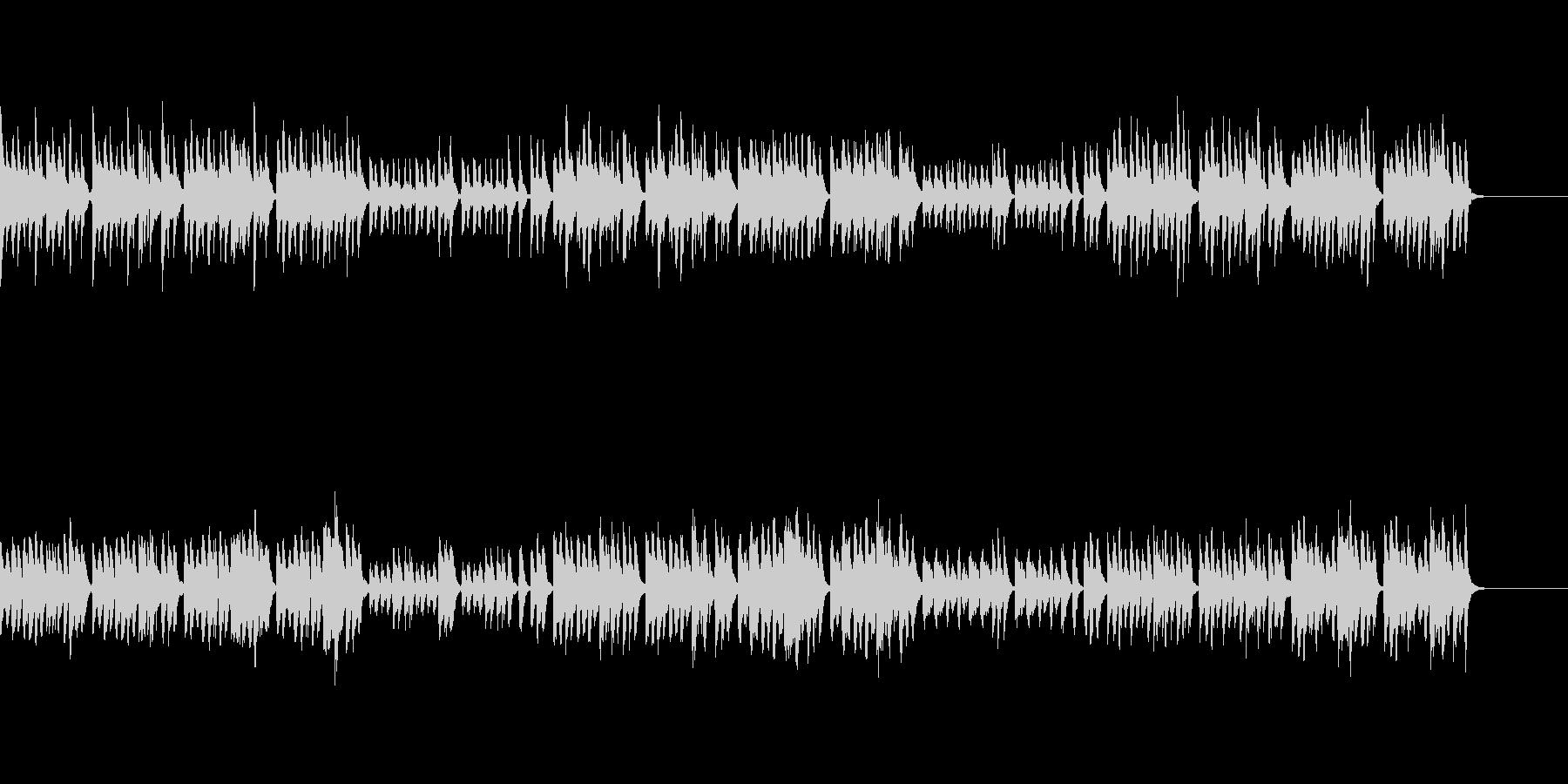 おとぎの国の雰囲気のBGM(クラシカル)の未再生の波形