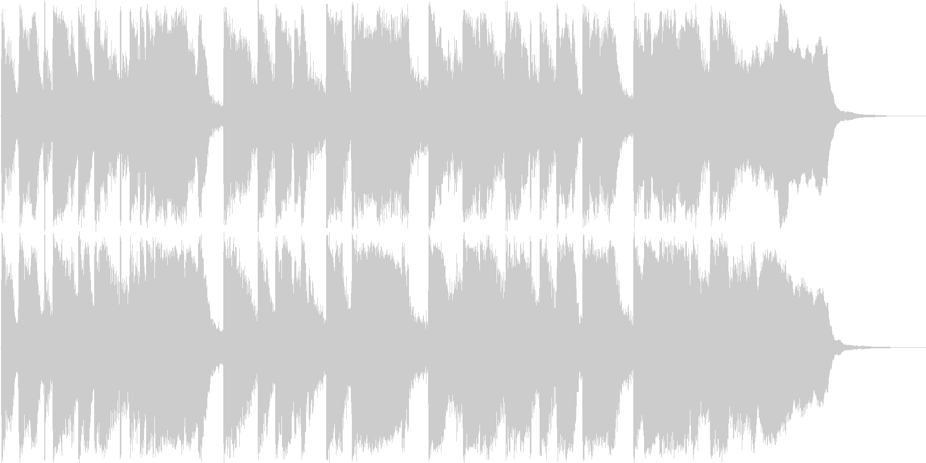 セクシーなsax鳴るJazzyなジングルの未再生の波形
