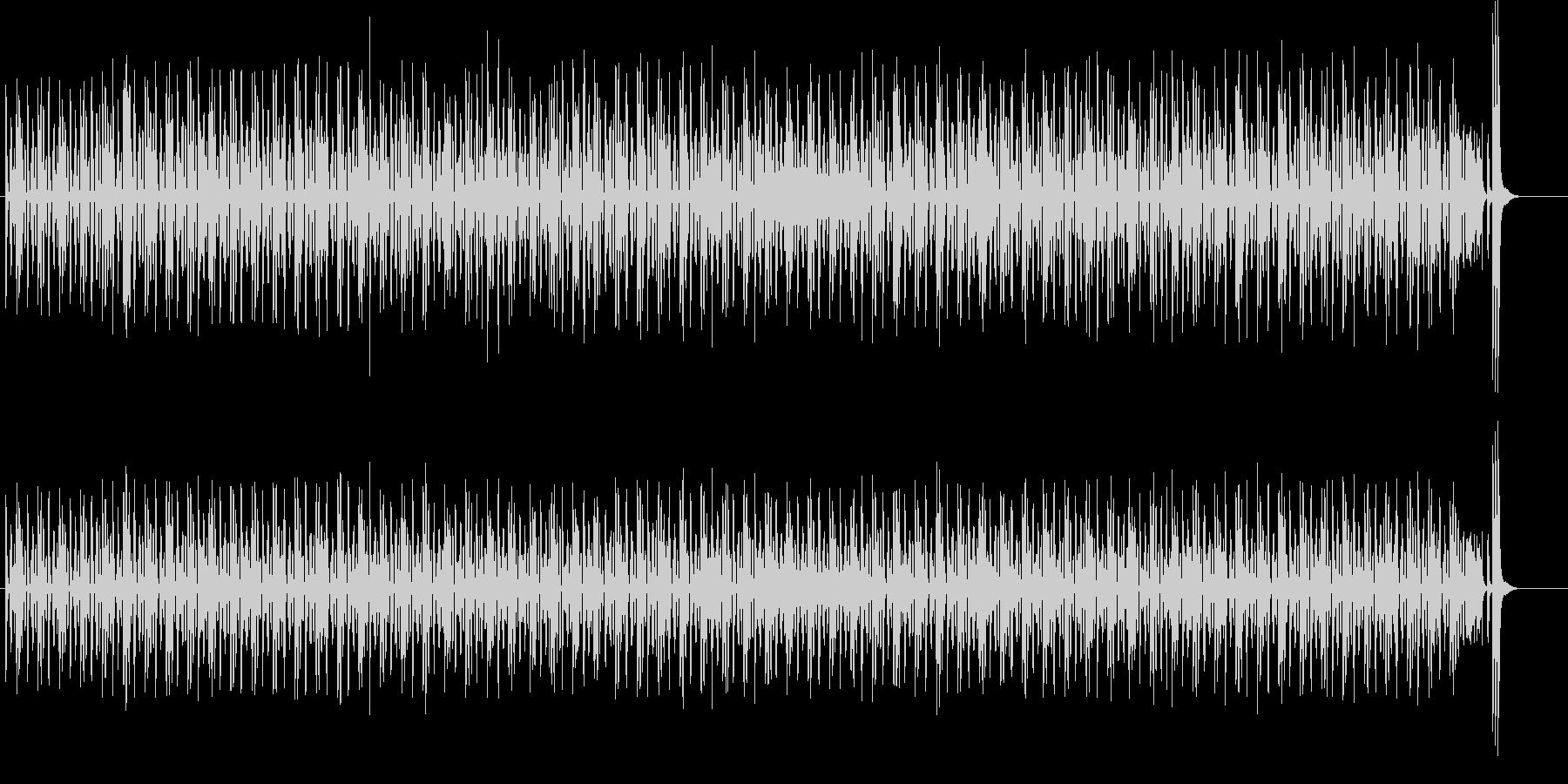 CMやアニメで使えるコミカルポップの未再生の波形